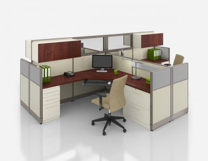 Nvision by Lacasse Workstations Designed for Your Space- view 3