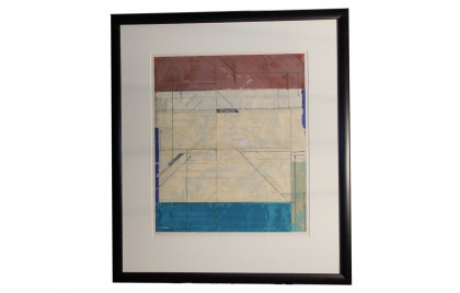 Framed Abstract Art  Limited Edition Signed and Numbered
