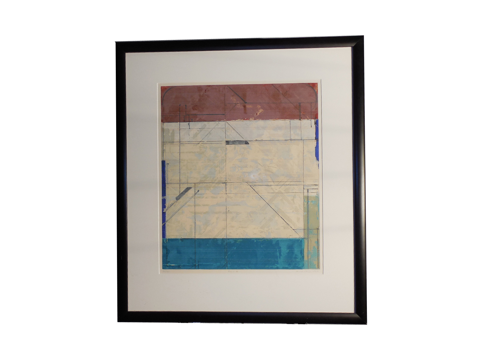 Framed Abstract Limited Edition Art