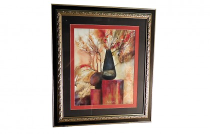 Sandy Clark Framed Art Enchanted Onyx II