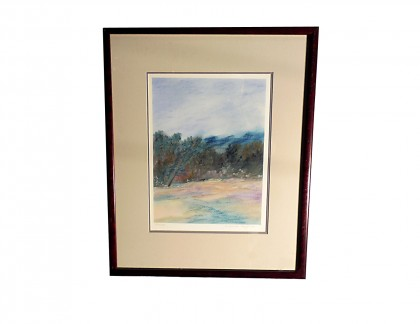 Jan Richardson Baughman Pastel Crossroads- view 1