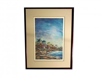 Framed Art by Alex Miles Untitled 2- view 1