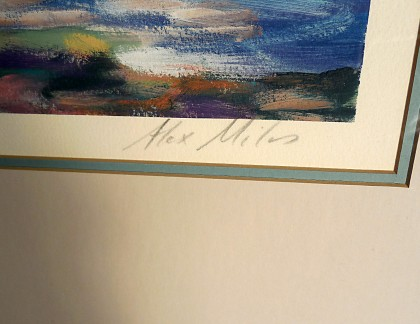 Framed Art by Alex Miles Untitled 2- view 2