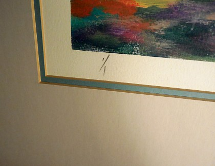 Framed Art by Alex Miles Untitled 2- view 3