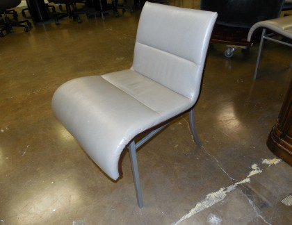 HBR Armless Leather Lounge Seating- view 2