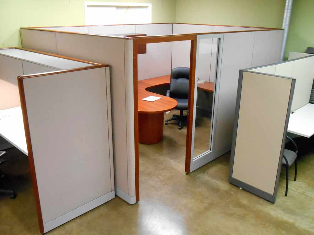 Kimball Cetra cubicle 9x13 Dallas Workstation
